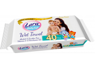 LARA WET TOWEL 40PCS