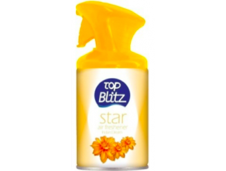 TOP BLITZ DISPENSER AIR FRESHENER 260ML. (STAR)
