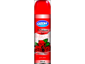 OZON AIR FRESHENER 300ML RED ROSE