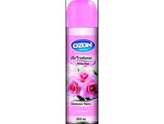 OZON AIR FRESHENER 300ML WHITE ROSE