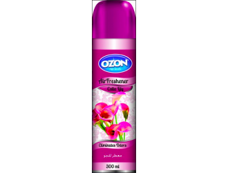 OZON AIR FRESHENER 300ML CALLA LILY