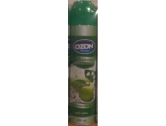 OZON AIR FRESHENER 300ML GREEN APPLE
